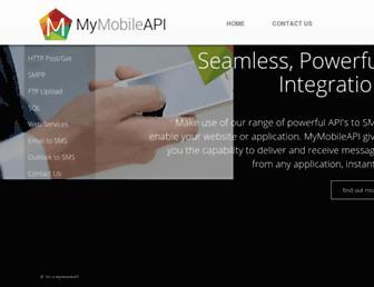 mymobileapi.com screenshot