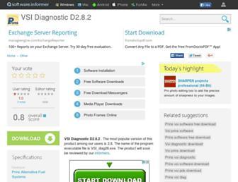 vsi-diagnostic-d2-8-2.software.informer.com screenshot