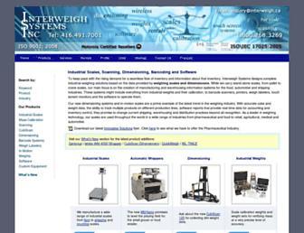 interweigh.ca screenshot