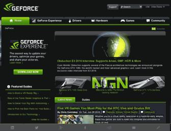 Thumbshot of Geforce.com