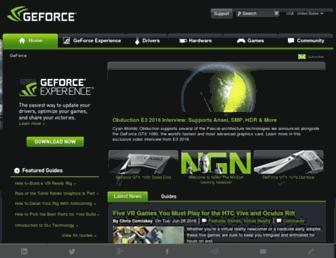 geforce.com screenshot