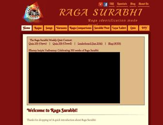 ragasurabhi.com screenshot