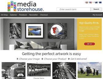 mediastorehouse.com screenshot