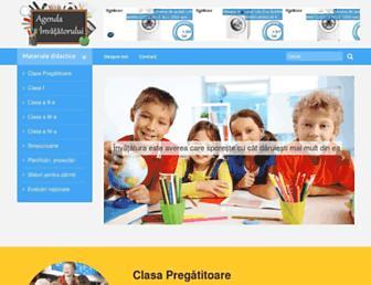 agendainvatatorului.ro screenshot