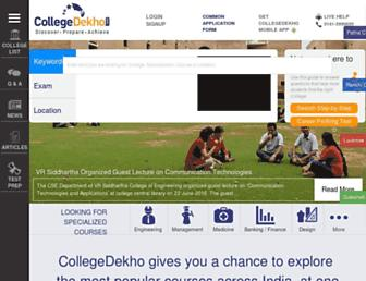 collegedekho.com screenshot