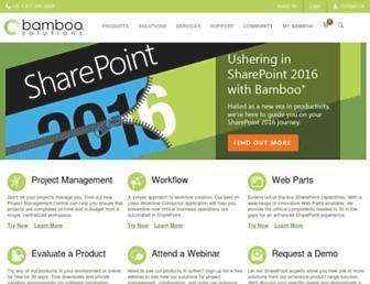 Thumbshot of Bamboosolutions.com