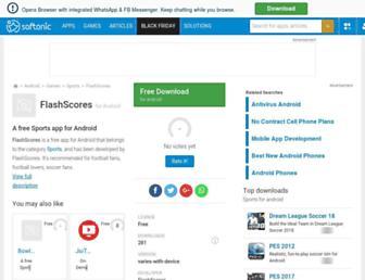 flashscores.en.softonic.com screenshot