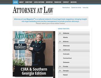 attorneyatlawmagazine.com screenshot