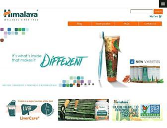 himalayausa.com screenshot