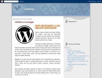 i-desing.blogspot.com screenshot