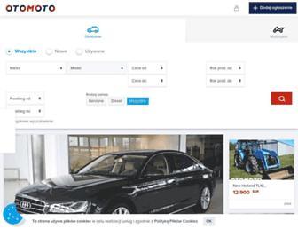 otomoto.pl screenshot