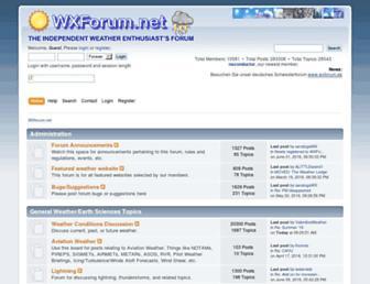 wxforum.net screenshot