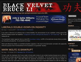 Main page screenshot of bvbl.net