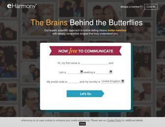 Thumbshot of Eharmony.co.uk