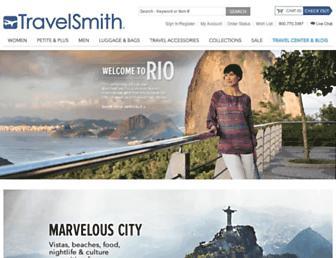 travelsmith.com screenshot