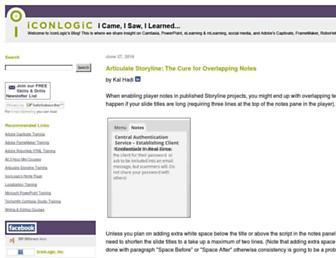 iconlogic.blogs.com screenshot