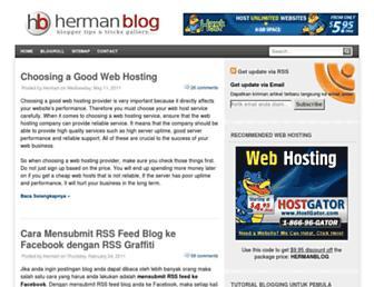 Thumbshot of Hermanblog.com