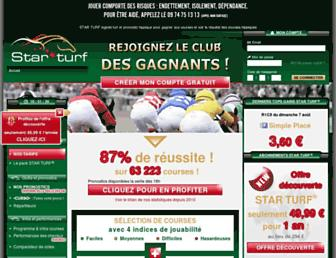 starturf.fr screenshot