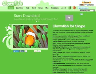 Thumbshot of Clownfish-translator.com