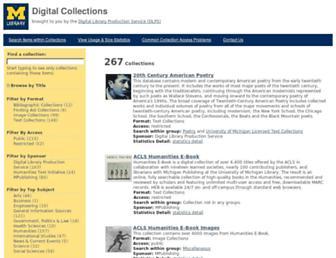 quod.lib.umich.edu screenshot