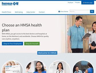 hmsa.com screenshot