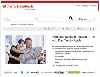 personensuche.dastelefonbuch.de screenshot