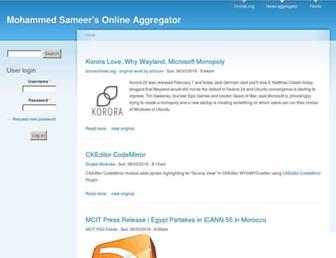 aggregator.foolab.org screenshot