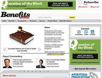 benefitscanada.com screenshot