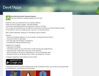 dev47apps.com screenshot