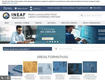 ineaf.es screenshot
