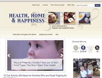Thumbshot of Healthhomehappy.com