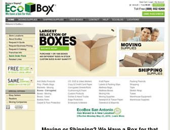 ecobox.com screenshot