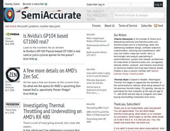 Thumbshot of Semiaccurate.com