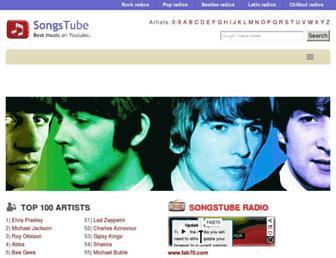 songs-tube.net screenshot