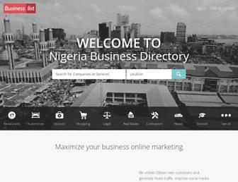 Thumbshot of Businesslist.com.ng