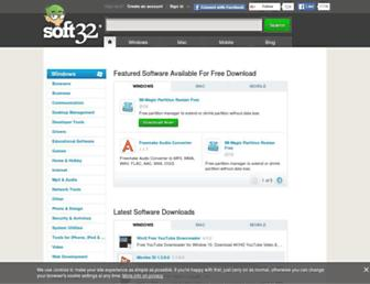 mcafee-antivirus-plus.soft32.com screenshot