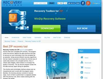 zip.recoverytoolbox.com screenshot