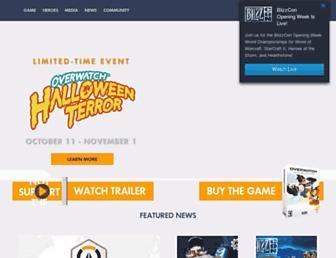 playoverwatch.com screenshot