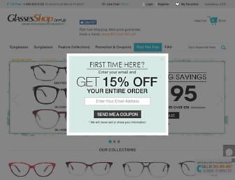 Thumbshot of Glassesshop.com