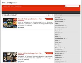 fulldosyaindirme.blogspot.com screenshot