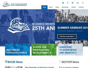 bccie.bc.ca screenshot