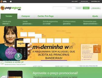 pagseguro.uol.com.br screenshot