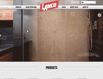 lancopaints.com screenshot