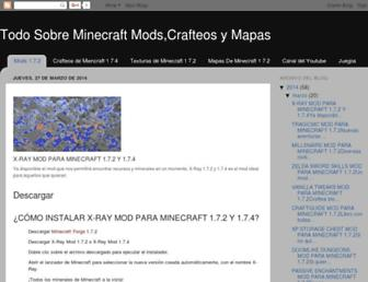 izilio98minecraft.blogspot.com screenshot