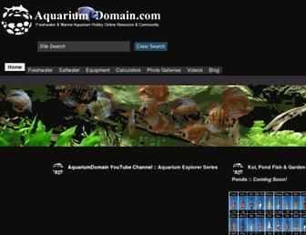 aquariumdomain.com screenshot