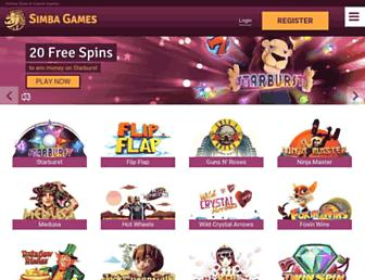 Thumbshot of Simbagames.com