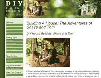 diyhousebuilding.com screenshot