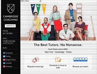 cambridgecoaching.com screenshot
