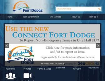 fortdodgeiowa.org screenshot