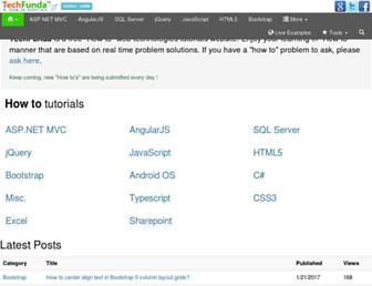 techfunda.com screenshot